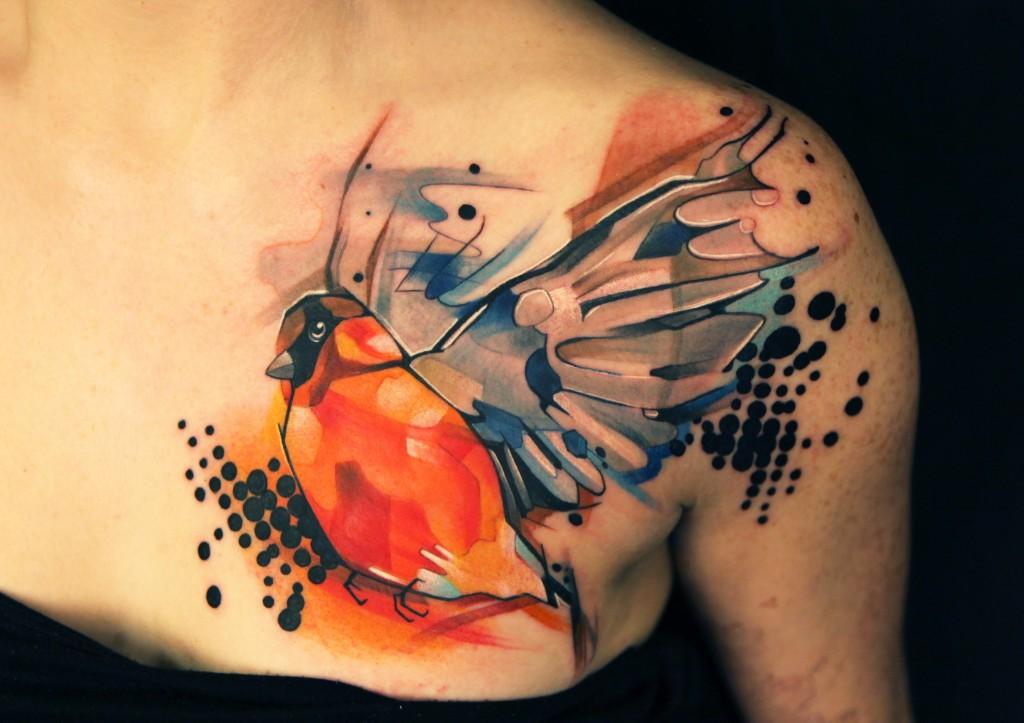 Ivana belakova tattoo artist the vandallist for Modern art tattoo