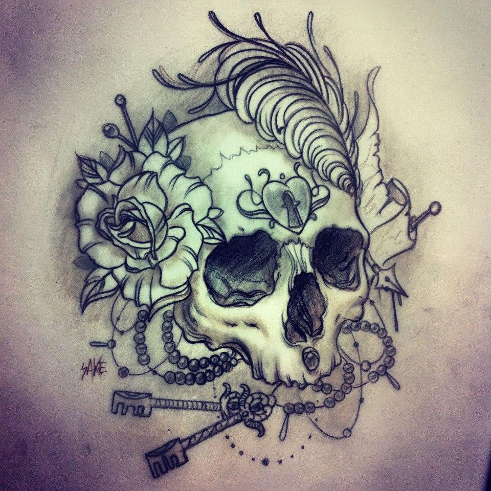 SAKE, tattoo artist