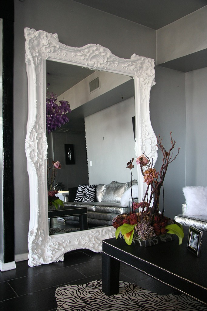 Floor mirrors the vandallist for Giant bedroom mirror