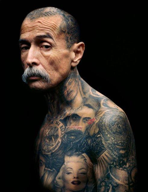 Black  Grey Tattoo Photography by Eric Schwartz