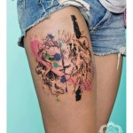 CANDE, tattoo artist
