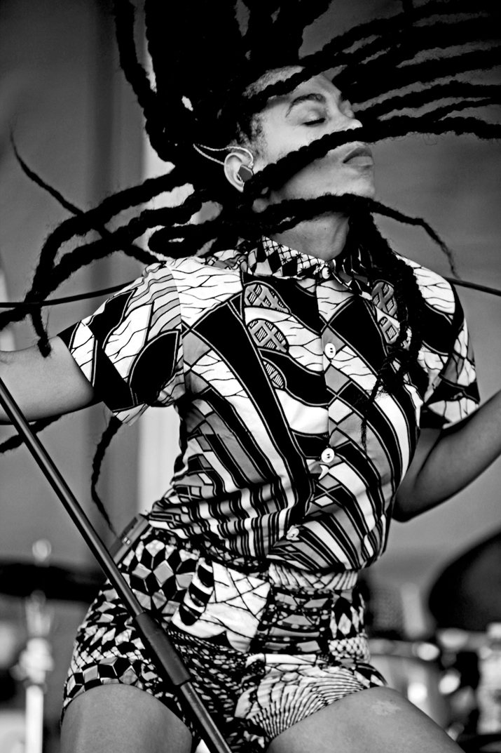 Solange style at Roots Picnic 2013 By Mel D. Cole