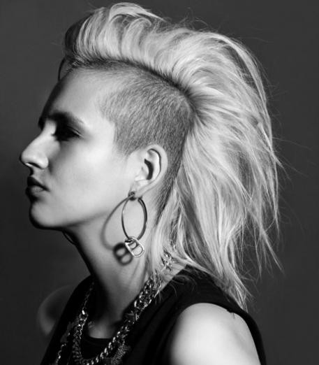 Brilliant Punk Hairstyles The Vandallist Short Hairstyles For Black Women Fulllsitofus