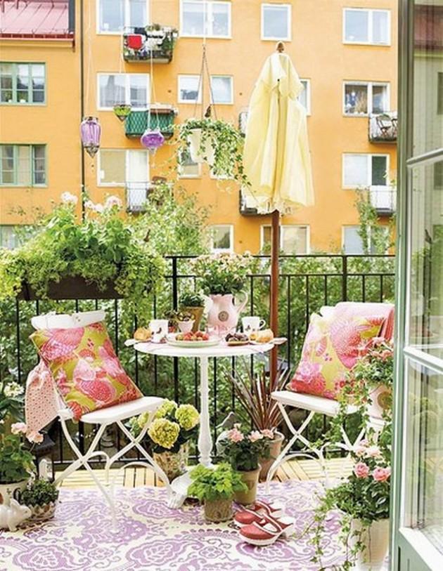 Сад на балконе фото идей..