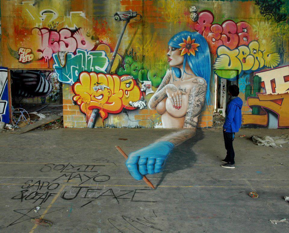 Jeaze Oner Street Artist