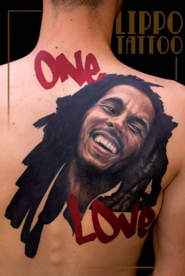 Lippo tattoo artist the vandallist for Bob marley tattoo