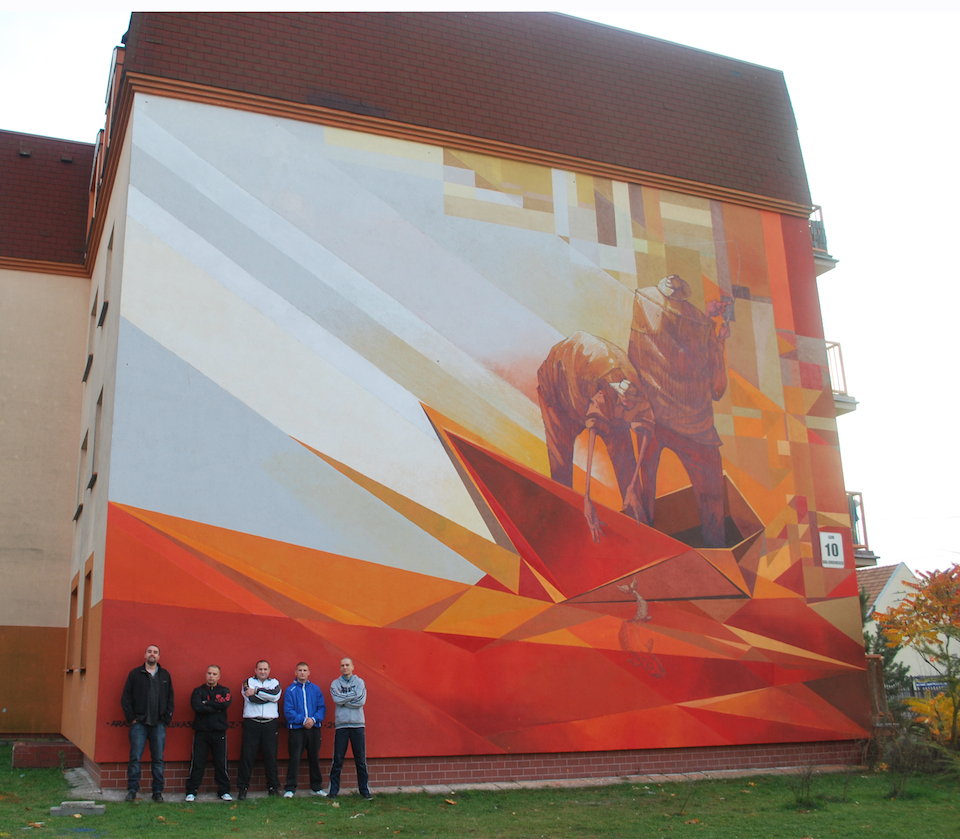 Mural-by-Pener-and-Sepe-in-Fordon-Vehicles-Bydgoszcz-Poland-2