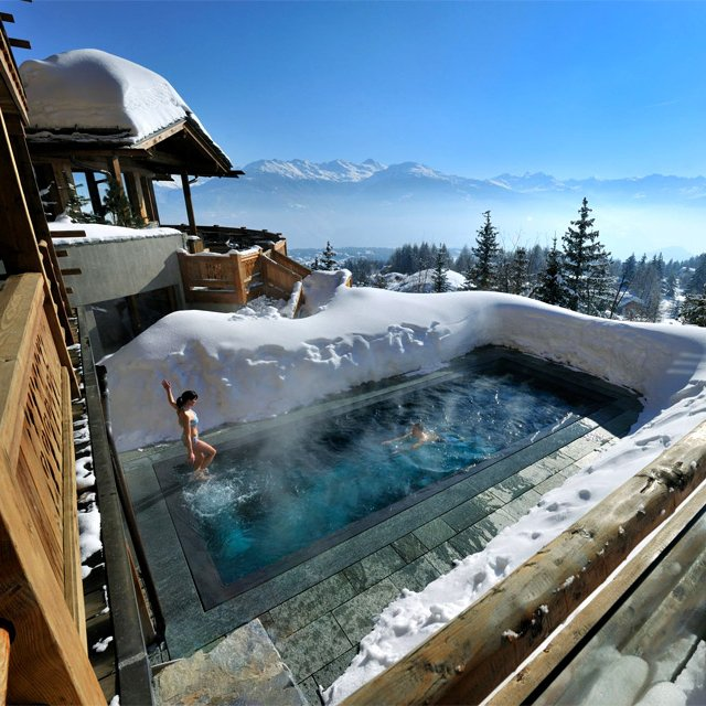 Lecrans Hotel & Spa @ Switzerland