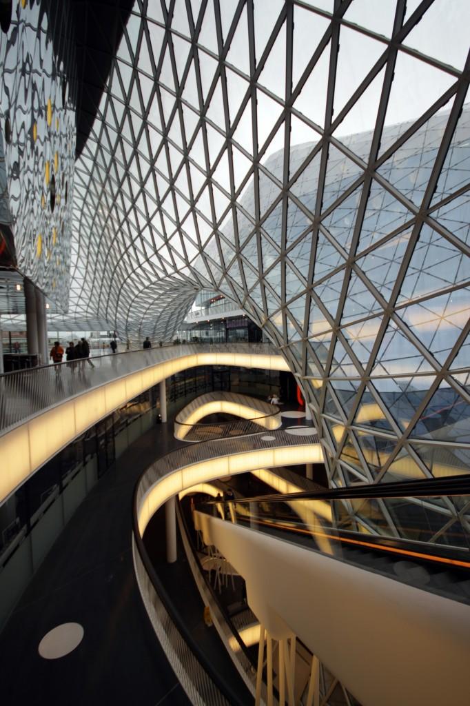 Myzeil Shopping Mall Frankfurt Germany The Vandallist