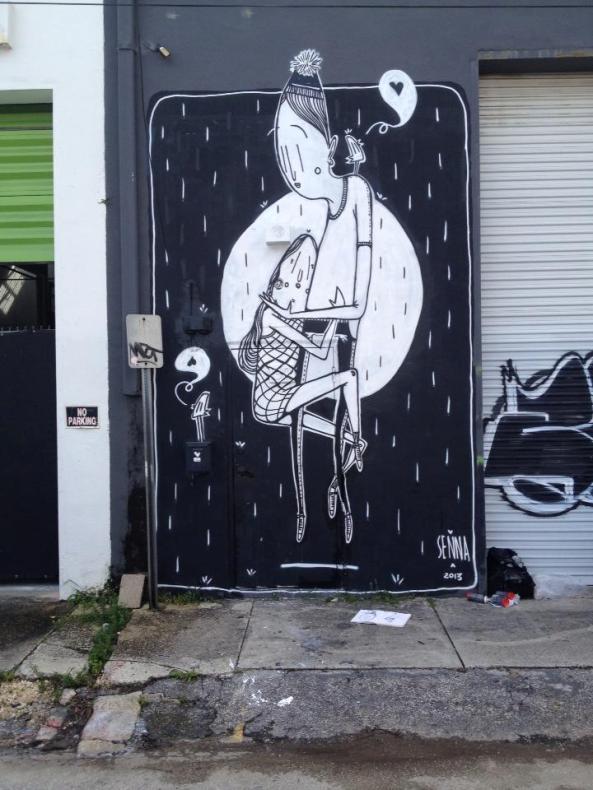 Alex Senna, street art... Kanye West