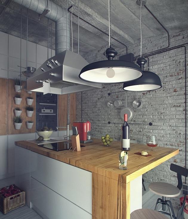 Industrial-Bachelors-Loft-by-Maxim-Zhukov-8