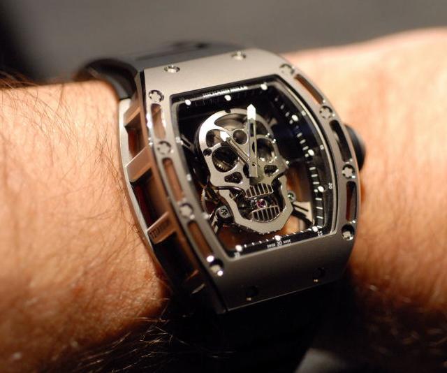 Richard Mille Tourbillon RM 052 Skull Watch – The VandalList