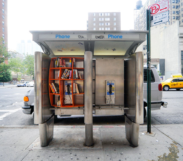 Phone Booth Library @ NYC