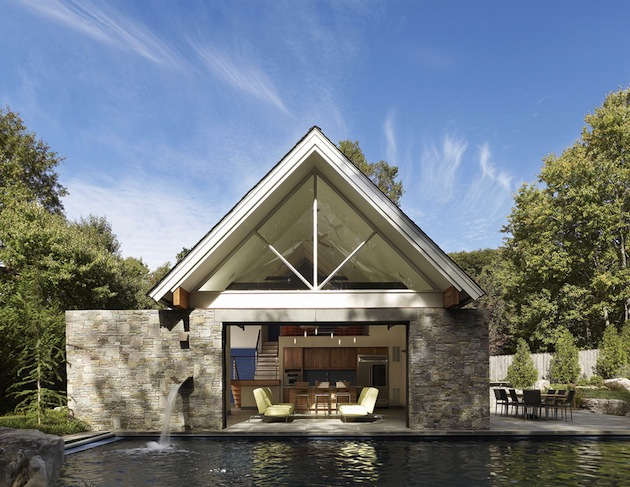 mclean pool house mclean pool house the vandallist. Black Bedroom Furniture Sets. Home Design Ideas