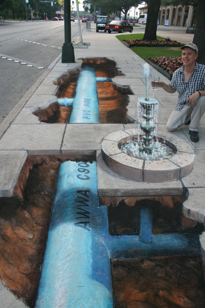 Julian Beever street art The VandalList