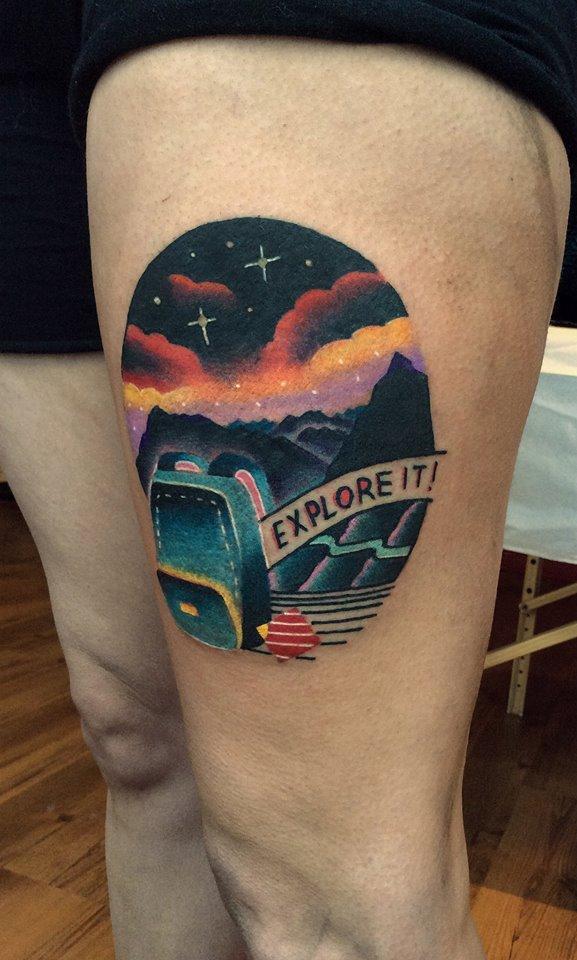 Cote Tattoo david côté, tattoo artist