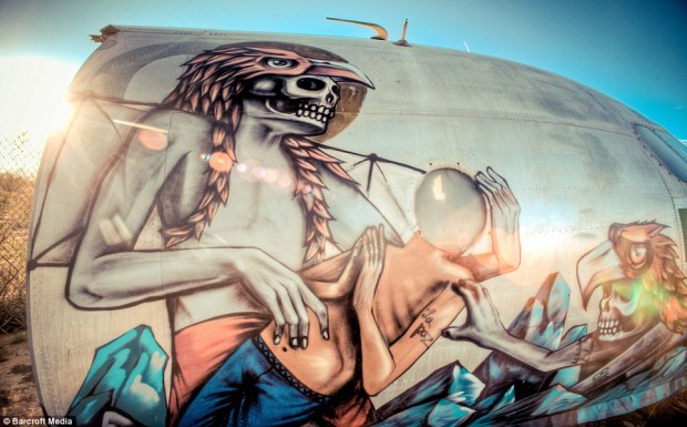 The Boneyard Project Deserted Airplane Graffiti