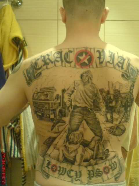 Football Fans Tattoos