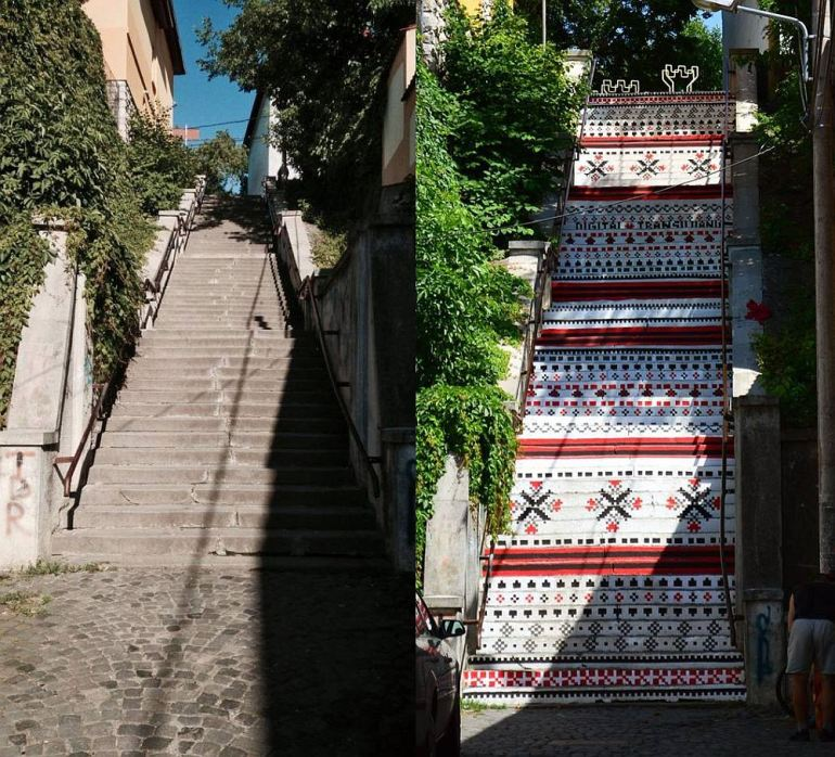 adelaparvu.com-despre-arta-urbana-in-Targu-Mures-Romania-Rakoczi-Stairs-in-Targu-Mures-City-Romania-8