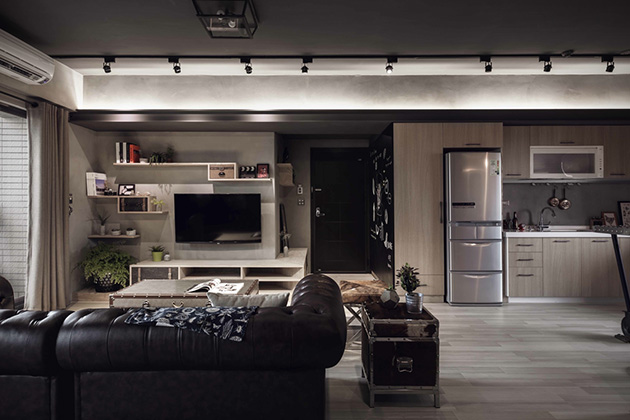 House-Design-Studios-Industrial-Bachelor-Apartment-in-Taiwan-4