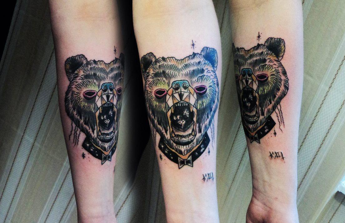 Style Tattoo: KAMIL MOKOT'S SKETCH-STYLE TATTOOS