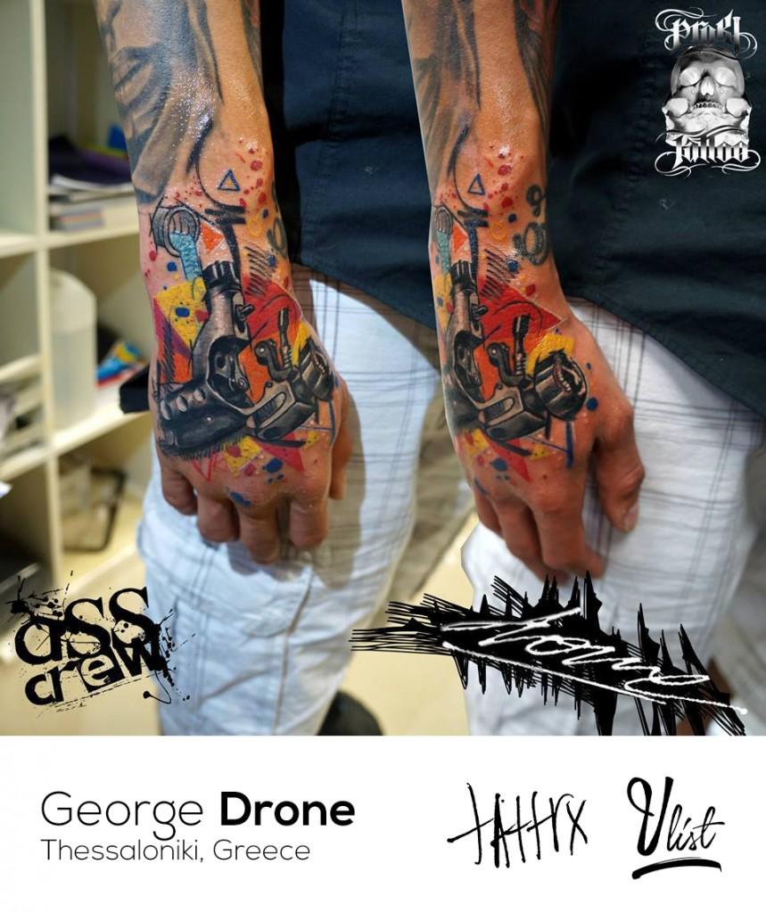 drone tattoo artist the vandallist tattrx