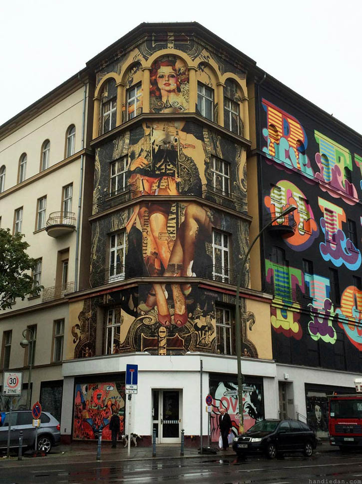 handiedan mural in berlin the vandallist. Black Bedroom Furniture Sets. Home Design Ideas