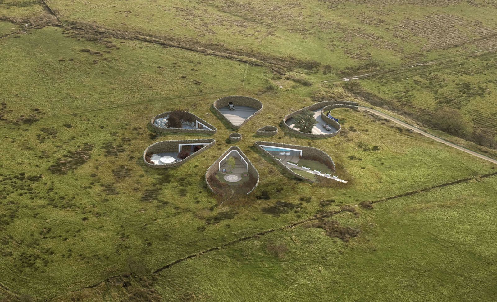How To Make A Underground House Bolton Eco House The Vandallist