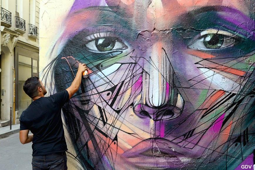 Hopare S Mural In Paris