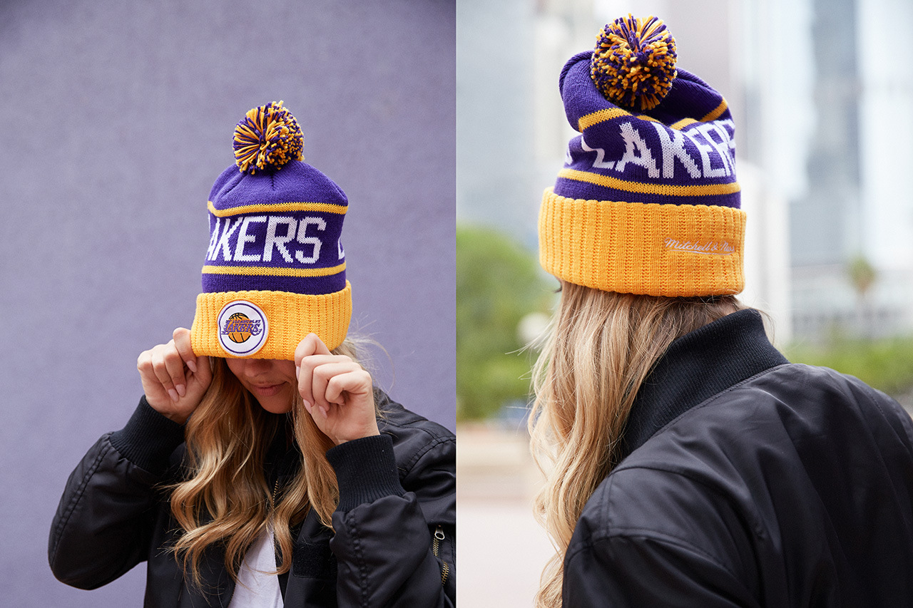 Collection of Knit Hats at LIDS by the collaboration between NBA and ... 4e0e7e225061