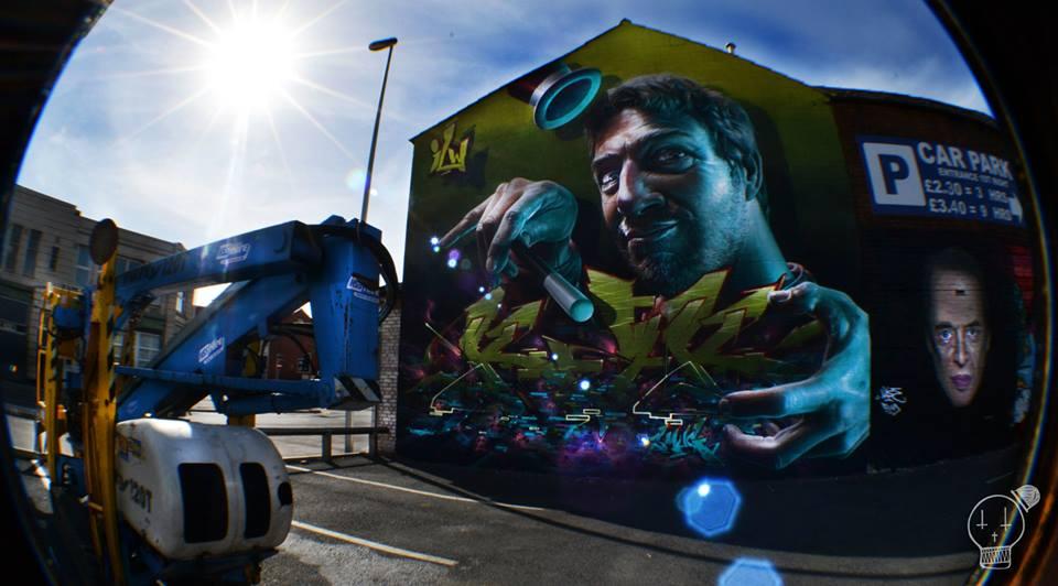 AKSE P19, street artist